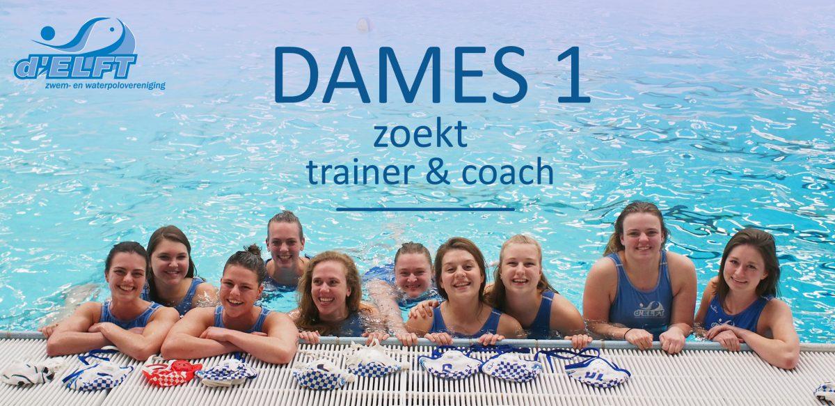 GEZOCHT: Damestrainer/coach van het leukste WATERPOLO Damesteam van Delft