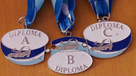 [26 juni] Diplomazwemmen volgens de nieuwe licentie