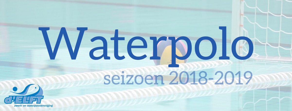 [27 aug] Waterpolo: start reguliere trainingen + barrooster