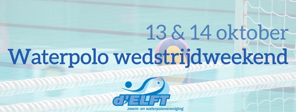 Waterpolo wedstrijdweekend van 13&14 oktober