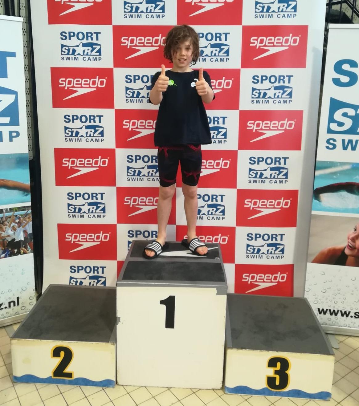 Mooie prestaties voor Lucas op de Jaargangwedstrijden in Leiden