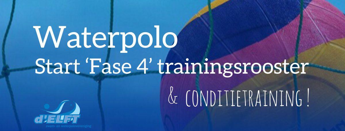 [12 aug] Waterpolo: start conditietraining