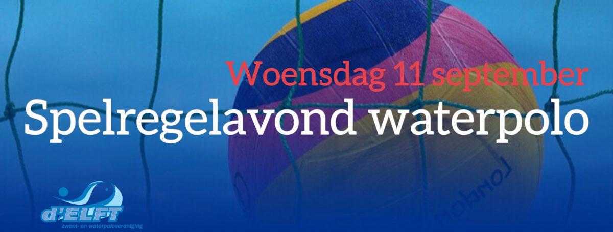 [11 sep] save the date: spelregelavond