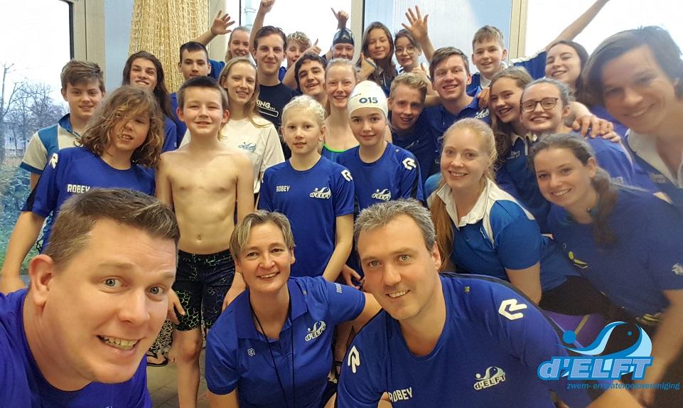 KNZB-zwemcompetitie: d'ELFT WAVE kijkt omhoog!
