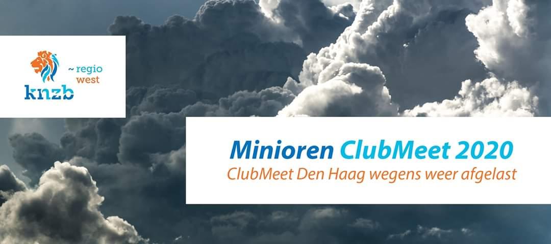 Regio Clubmeet Den Haag afgelast